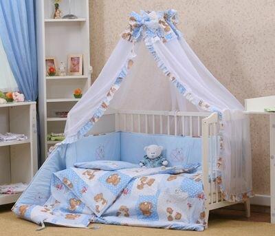 Как выбрать комплект постельного белья для новорожденных